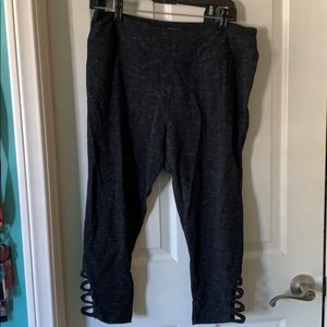 leggings, grey and soft size L